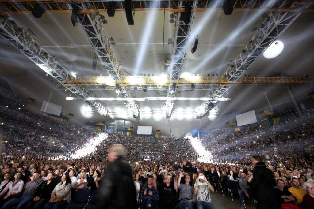 Olympiahalle München bei einem Konzert