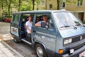 Rolling Stones-Tour mit dem VW Bulli